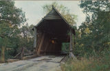 Mellon Covered Bridge over Choccolocco Creek, east of Oxford, Alabama, near Sunny Eve Church.