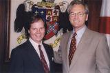 Doug Jones with Governor Don Siegelman.