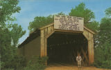 Buzzard Roost Covered Bridge, three miles west of Cherokee, Colbert County