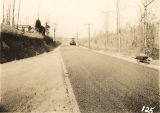 Work on the Crestline Heights and Shades Mountain Road in Jefferson County, Alabama.