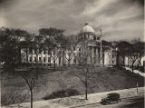 Capitol in Montgomery, Alabama, with completed north and south wings.