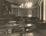 Senate chamber of the Capitol in Montgomery, Alabama.