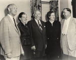 Senator Lister Hill with Vice President Alben Barkley and others.