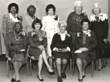 Virginia Durr, Johnnie Carr, and group of  women who were involved in the civil rights movement in...