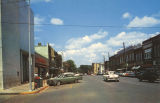 """Jackson Avenue Business Section Looking North, Russellville, Ala."""