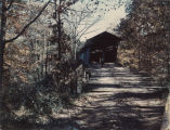 Standridge Covered Bridge over Locust Fork of Black Warrior River, near Hayden, Blount County.