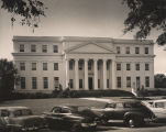 Building of the Alabama Department of Archives and History, viewed from Washington Avenue in...