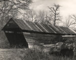 Possibly Oakachoy Covered Bridge, Coosa County, Alabama..