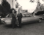 George C. Wallace shaking hands with a supporter outside the Capitol in Montgomery, Alabama,...