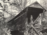 Oakachoy Covered Bridge, Coosa County; built in 1915 by Melton Harris, burned in 2001