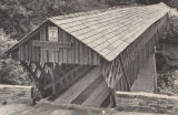 Horton Mill Covered Bridge, Blount County, after it was restored.