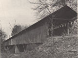 Swann Covered Bridge over Locust Fork of the Black Warrior River, Blount County, Alabama.