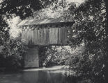Tallahatchee Covered Bridge near Alexandria, Calhoun County, Alabama.