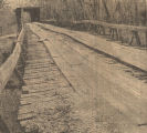 """Rickety Pintlala Creek Bridge Has Stood a Century."""