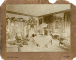 "Back parlor at ""The Grove,"" home of Nicholas Davis, Jr., in Huntsville, Alabama."