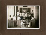 African American students at Plateau School in Jefferson County, Alabama.