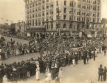 World War I victory parade in downtown Montgomery, Alabama.