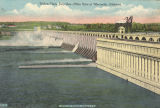 """Wilson Dam, Sixty-Five Miles West of Huntsville, Alabama."""