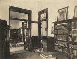 Interior of the Carnegie Library in Eufaula, Alabama.