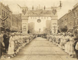 World War I victory parade for the 167th Infantry regiment on Commerce Street (at the intersection...