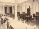 Interior of the Carnegie Library at Alabama Polytechnic Institute in Auburn, Alabama.