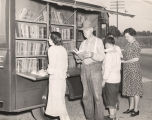 Bookmobile in Tuscaloosa County, Alabama.