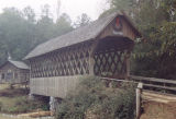 North end of Poole's Covered Bridge in Troy, Alabama.