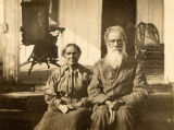 Winter Cantey (age 85) and his wife (age 83) in Fort Mitchell, Alabama, former slaves of General...