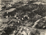 Aerial view of Huntingdon College in Montgomery, Alabama.