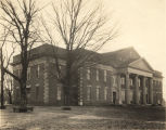 Building, possibly Hames Hall, on the campus of Jacksonville State Teacher's College in...