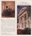 """Alabama's Governor's Mansion,""  by Alabama Bureau of Tourism and Travel"