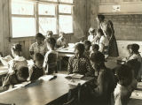 First grade pupils and teacher at Gee's Bend School.