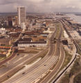 Aerial view of Mobile, Alabama.