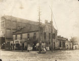 Freeney's Tavern, also known as the Lafayette House, on the corner of Tallapoosa and Commerce...