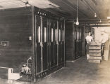 Incubator room at Farm Industries, Inc., in Decatur, Alabama.