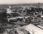 Aerial view of the Republic Steel Corporation plant in Gadsden, Alabama.