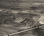 Aerial view of the B.F. Goodrich tire plant in Tuscaloosa, Alabama.