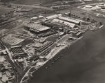 Aerial view of the Aluminum Company of America plant in Mobile, Alabama.