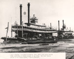 "Steamboats ""Jas. T. Staples"" and ""City of Mobile"" at Mobile, Alabama."