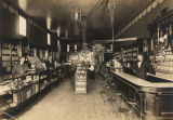 Interior of a drugstore in Athens, Alabama.