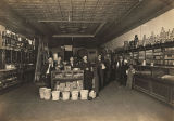 Interior of McConnel Grocery in Athens, Alabama.