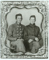 Private Charles W. Faust and Private David Clinton, Company B, 10th Alabama Infantry, C.S.A.