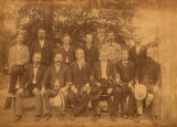 Veterans from the Alabama Independent Rifles, Company E, 6th Alabama Infantry, C.S.A.