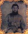 Private John Henry Dollar, Company D, 34th Alabama Infantry, C.S.A.