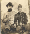 James D. Whatley and an unidentified soldier, C.S.A.