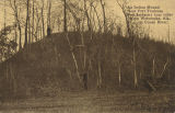 """An Indian Mound Near Fort Toulouse (Fort Jackson) four miles from Wetumpka, Ala., on Coosa..."