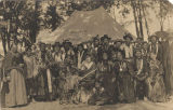 Indians at the Mount Vernon Barracks in Alabama.