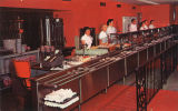 Serving line at Francis Cafeteria in Montgomery, Alabama.