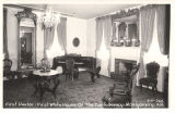 """First Parlor - First White House of the Confederacy - Montgomery, Ala."""
