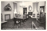 """Dining Room - First White House of the Confederacy - Montgomery, Ala."""